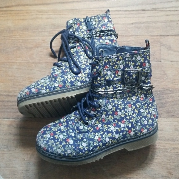 Link Other - Girls Floral Boots